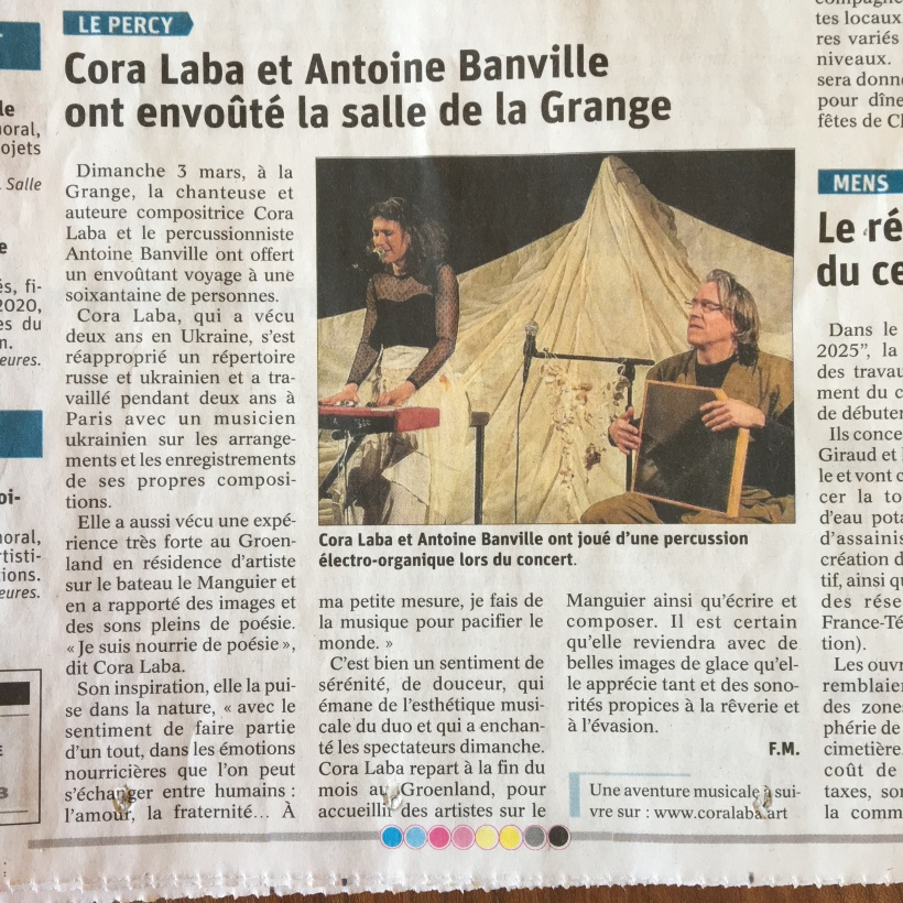 Article Cora Laba Mars 19
